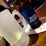 Bud LIght - be sure to ask for a glass