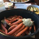 1.5 lbs of the BEST crab legs around
