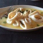 Calamari cooked to perfection. So tender.