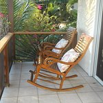 Jumbie Room - Balcony - small table/chairs and Rocking Chairs