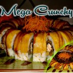 Our Mega crunchy roll