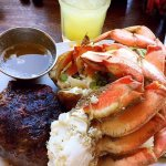 Steak and crab special