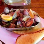 Clams appetizer