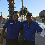 Carlos and Jesse were the waiters in the pool area and they provided us excellent service every