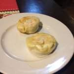 Filo pastry with cheese filling