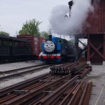 Thomas the tank engine was there on the day we visited (check dates if your kids want to ride)