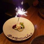 My Maha birthday sparkler