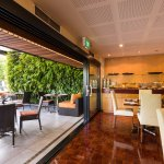 50 Bistro offers both indoor and outdoor (The Conservatory) seating options.