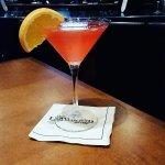 Bitter Peach Martini
