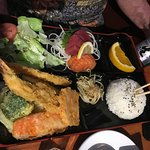 Decent dinner - bento box style