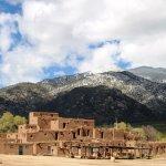 Living history, Taos Pueblo,