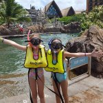 $15 per keiki for all day snorkeling pass.