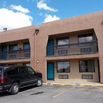 El Camino Lodge, Taos NM. Free parking by room.