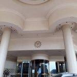Sun-n-sand hotel- entrance