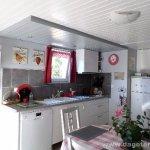L'espace cuisine du gîte An Heol