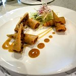 Wok Tossed BBQ Duck Spring Roll