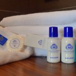 Bathroom towels and kits
