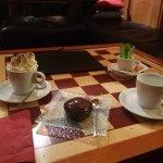Chocolat viennois et galets chocolat et coeur noisette