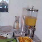 Завтрак типа мини шведский стол