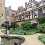 Coughton Court in the rain