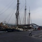 Tall ship at UllapoolHarbour