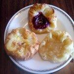 Dainty Danish pastries
