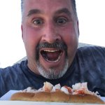 Out of this world hot lobster rolls and fish and chips and huge fried shrimp!!