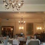 The tea room upstairs