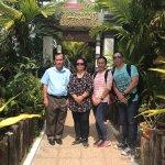Family photos of our tour of Seim Reap