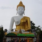 Wat Phra That Doi Kham (Temple of the Golden Mountain) Foto