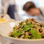 Salad of pulses, seeds, beans & greens