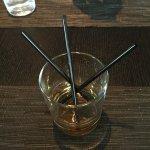 Scotch with 3 straws