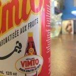 Saudi Arabian Vimto drink