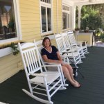 Front Veranda with rocking chairs