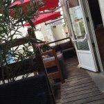 Terrasse du restaurant calme