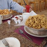 Fried scallop & fried clam basket