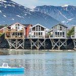 Sea houses.