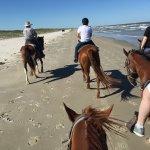 Riding along the beach -- wonderful -- worth the money