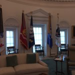 View of the Oval Office