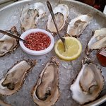 Delicious oysters. Wish they had more varieties
