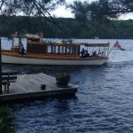 Idyllwood by Sunset Cruises comes right to our dock!