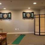 Newly added Games Room on lower level.