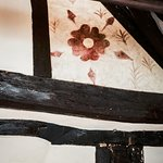 One of the oldest examples of a painted Tudor Rose in the country
