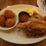Piminto Cheese Balls (must try) Fried chicken, & mac & cheese