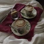 Cappuccino in our room