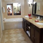 Master bathroom in suite