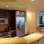 Kitchen areas in suite