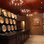 Take a look into our intimate vaulted barrel and cask rooms where we age our red wines