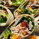 Wild Caught Salmon Wraps