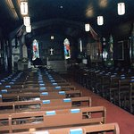 Inside the RCMP church